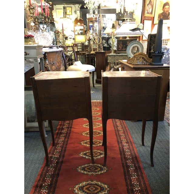 Antique Early 19th Century French End Tables - a Pair For Sale - Image 10 of 13