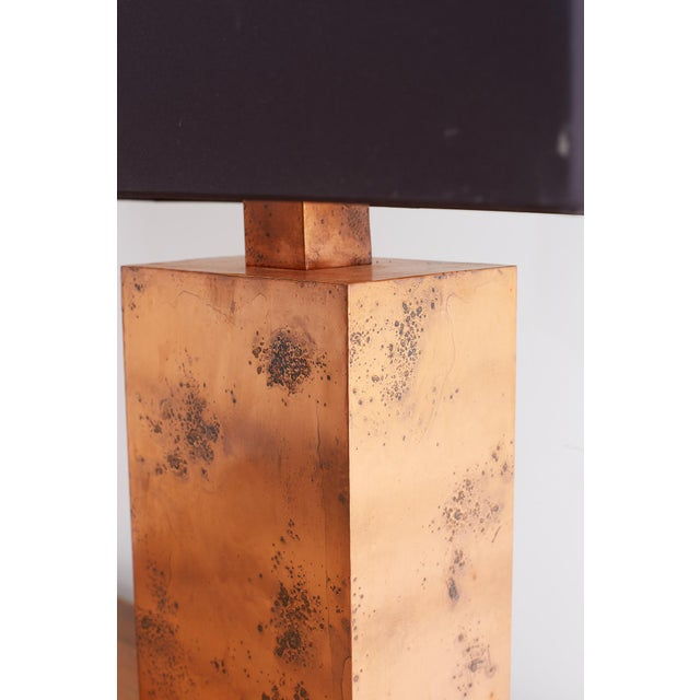Metal Patinated Copper Lamps by Arteriors Tanner Kenzie For Sale - Image 7 of 13