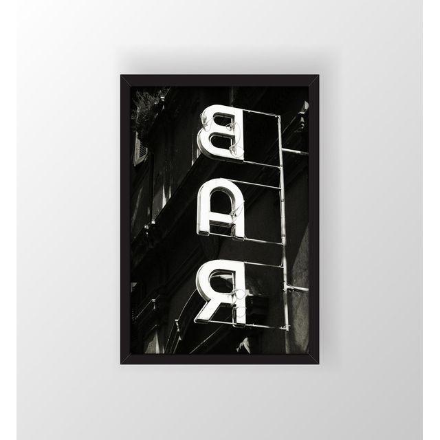 "Robert Evans ""The Bar"" Framed Photo Print - Image 2 of 3"