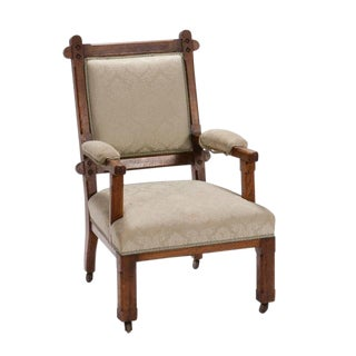 Early 20th Century English Arts & Crafts Chair For Sale