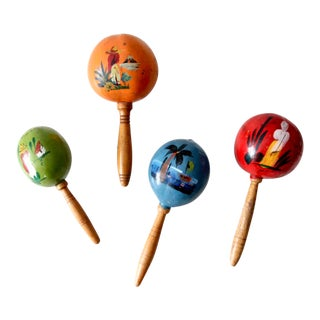 Mid-Century Maracas Collection - Set of 4 For Sale