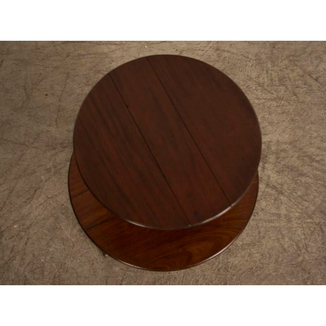 Early 19th Century George III Period Mahogany Pedestal Table, England circa 1820 For Sale - Image 5 of 8