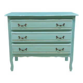 French Shabby Chic Louis XV Sideboard For Sale
