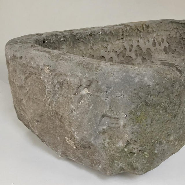 18th Century Hand-Carved Stone Jardiniere For Sale - Image 9 of 13