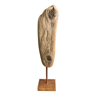 Vintage Drift Wood Sculpture For Sale