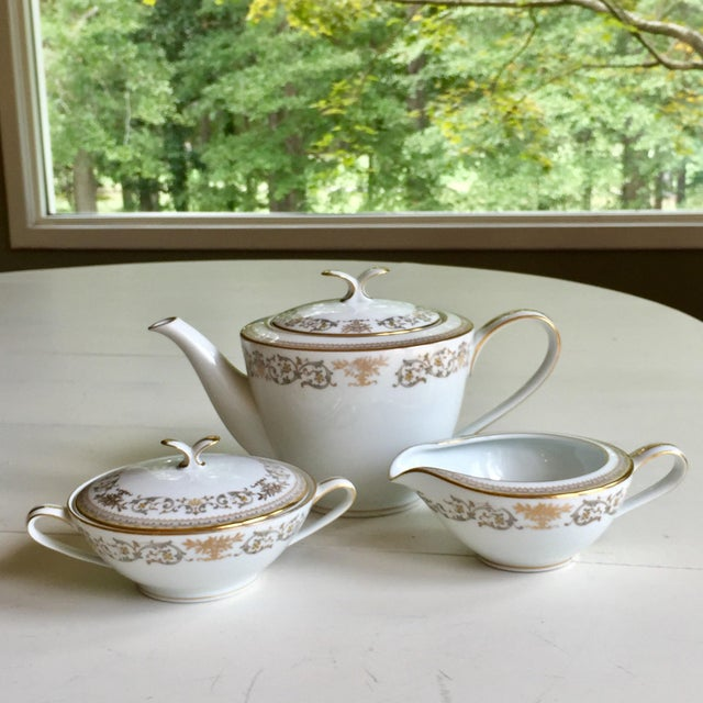 Noritake Gracelyn Setting for 6 - Image 5 of 12
