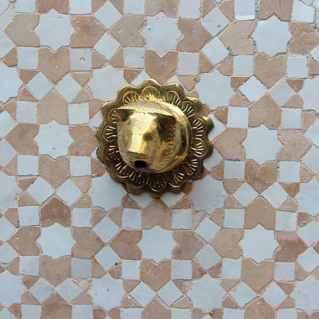 Moroccan Tile Wall Fountain - Image 4 of 4