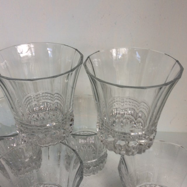 Cristal d'Arques-Durand Victoria Double Old Fashion Glasses - Set of 6 For Sale - Image 10 of 13
