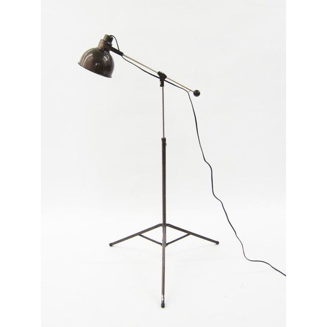 1960s 1960s Industrial floor lamp For Sale - Image 5 of 10