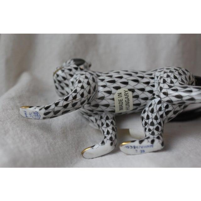 Figurative Vintage Herend Porcelain Monkey Figurine For Sale - Image 3 of 6