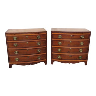 Pair of Hickory Mfr Bachelors Chests For Sale