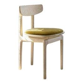 Bunn Studio Pillar Dining Chair, Upholstered For Sale