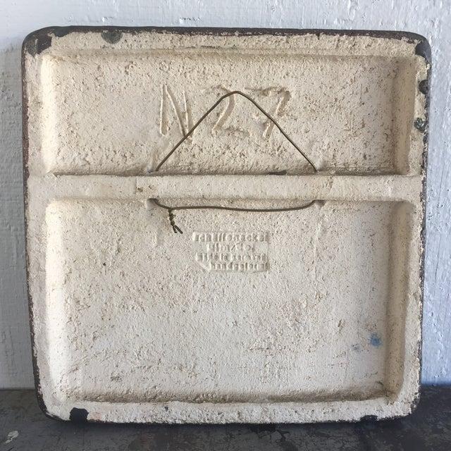 MidCentury Modern Ceramic Schaffenacker Tile Chairish - Ceramic photo tiles headstone