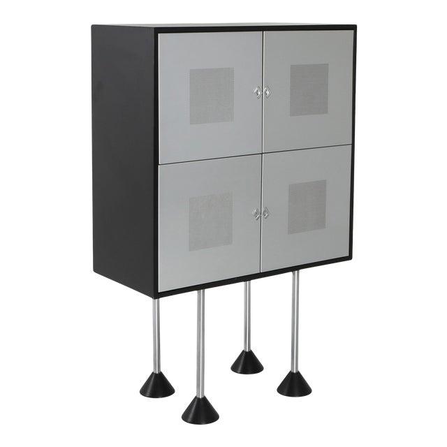 1980s Pastoe Postmodern Memphis Style Cabinet by Gerard Van Den Berg For Sale