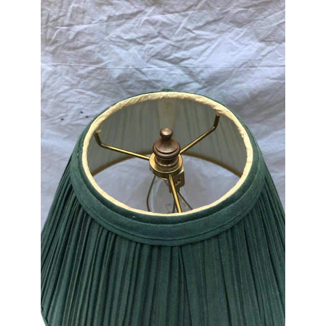 Antique Brass Ormolu Candlestick Table Lamp For Sale In Washington DC - Image 6 of 8