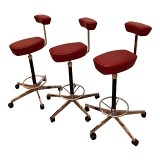 George Nelson by Vitra Perch Stools - Set of 3
