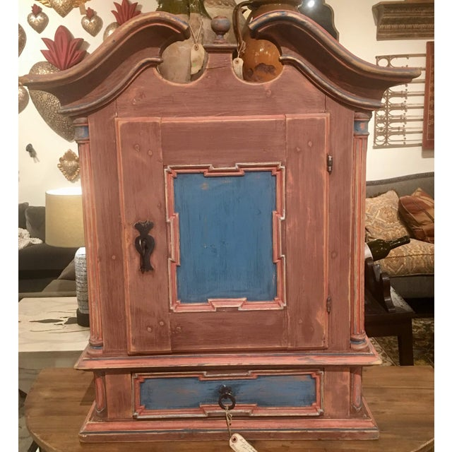 19th Century Antique Swedish Wall Cabinet For Sale - Image 13 of 13