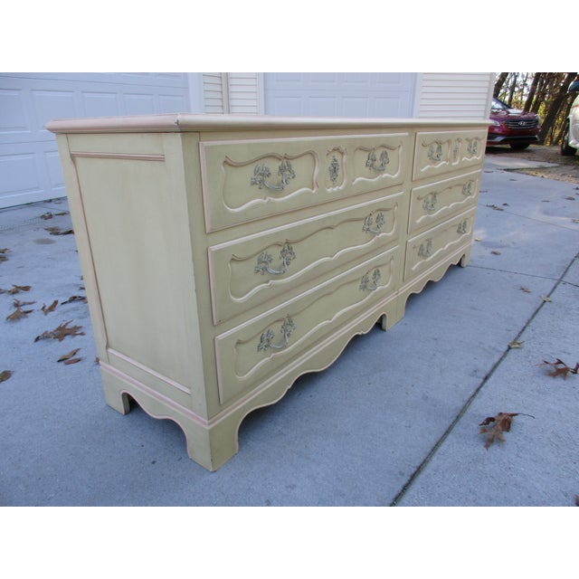 Baker Furniture Side-By-Side Double Chest of Drawers - Image 4 of 11