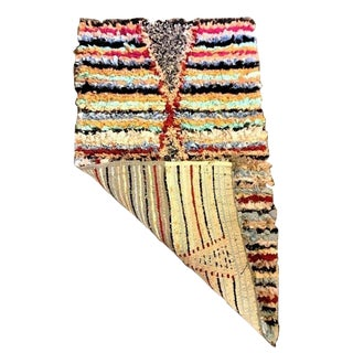Moroccan Boho Chic Rug For Sale
