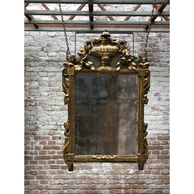 18th Century Provincial Louis XVI Mirror For Sale - Image 11 of 12