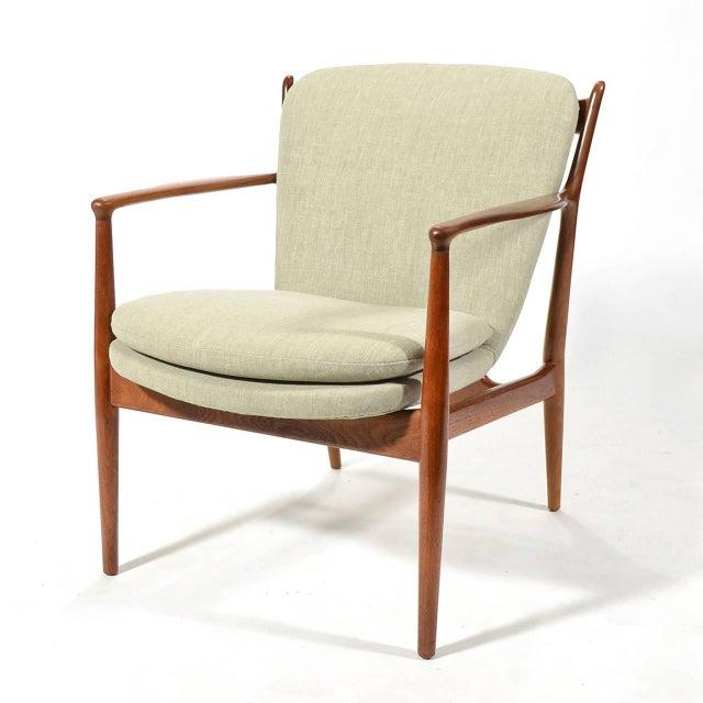 1950s Finn Juhl Delegates Chair For Sale - Image 5 of 11