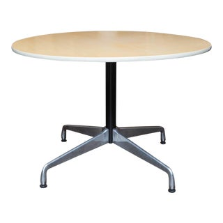 Herman Miller Round Aluminum Group Table