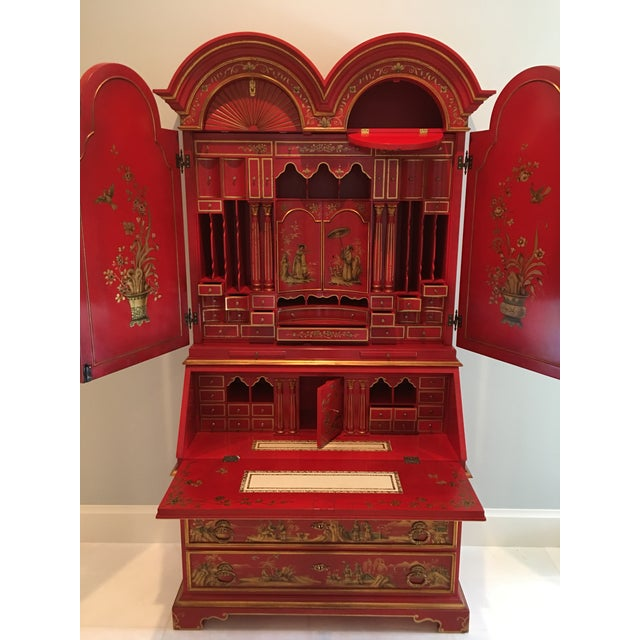 We purchased this beautiful Secretary in Palm Beach at a high-end Consignment store inter 1980's. We have loved and...