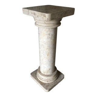 Heavy Marble Column Pedestal