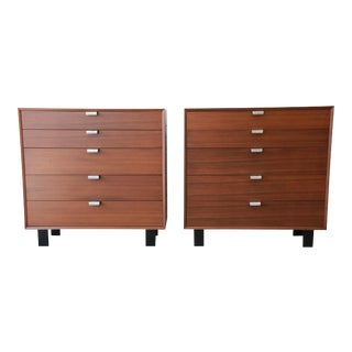 George Nelson for Herman Miller Dresser Chests, A Pair