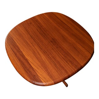 Mid-Century Modern Dyrlund Teak End Table For Sale