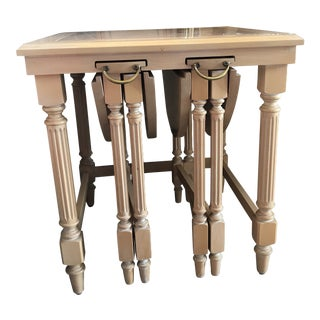 Set of 3 Nesting Tables by Gordon For Sale