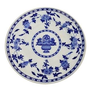 1900s Blue Delft Minton Plate For Sale