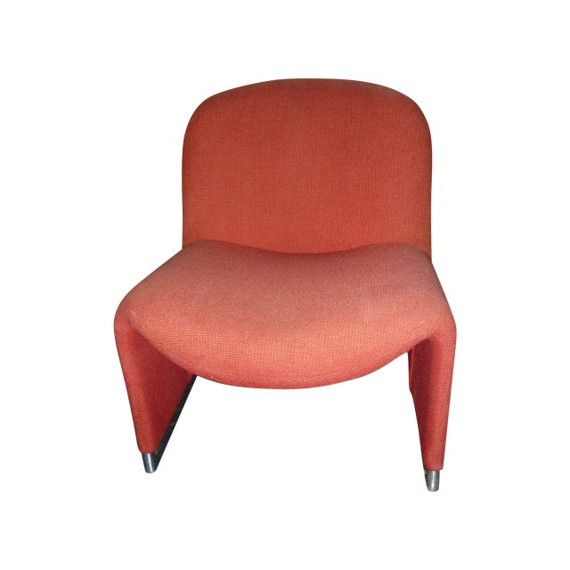 Iconic Giancarlo Piretti Lounge Chair - Image 1 of 3