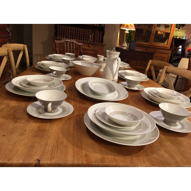 Rosenthal Greek Key Athenian China Set - 63 pieces For Sale - Image 9 of 12