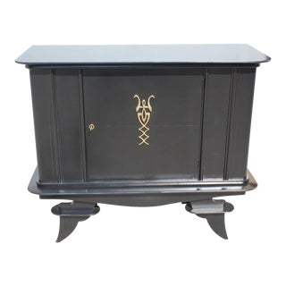 1940s French Art Deco Dry Bar or Sideboard For Sale