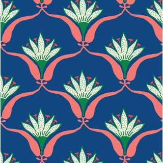 Mitchell Black Home Wallflower Tropical Peel & Stick Wallpaper For Sale