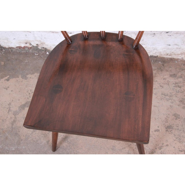 Paul McCobb Newly Refinished Planner Group Dining Chairs - Set of 6 For Sale - Image 9 of 13