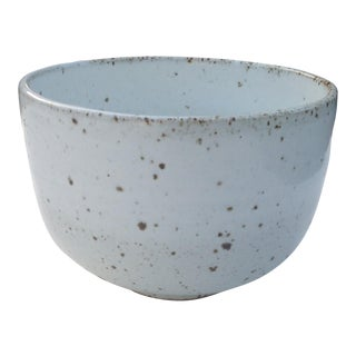 White Rustic Modern | Boho Chic Speckled Bowl | Ramen Noodle Bowl | Serving Bowl | Mixing Bowl | Decorative Bowl For Sale