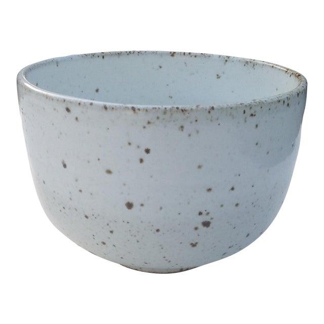 White Rustic Modern | Boho Chic Speckled Bowl | Ramen Noodle Bowl | Serving Bowl | Mixing Bowl | Decorative Bowl For Sale