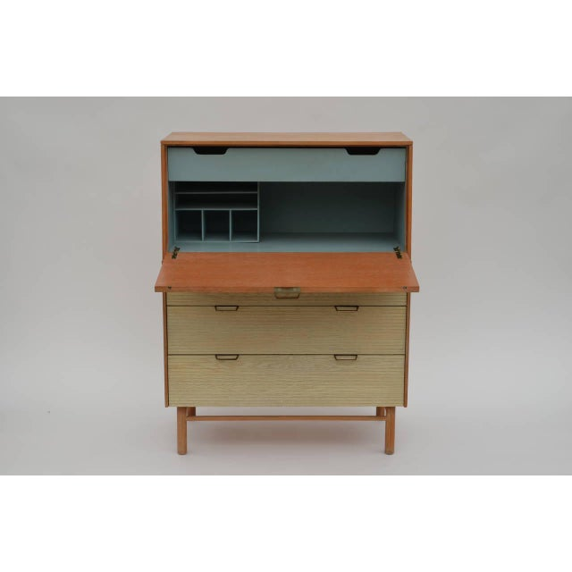 Mid-Century Modern Pristine Mid-Century Secretary Cabinet by Raymond Loewy for Mengel For Sale - Image 3 of 8