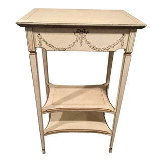 Waverly White Accent Table For Sale