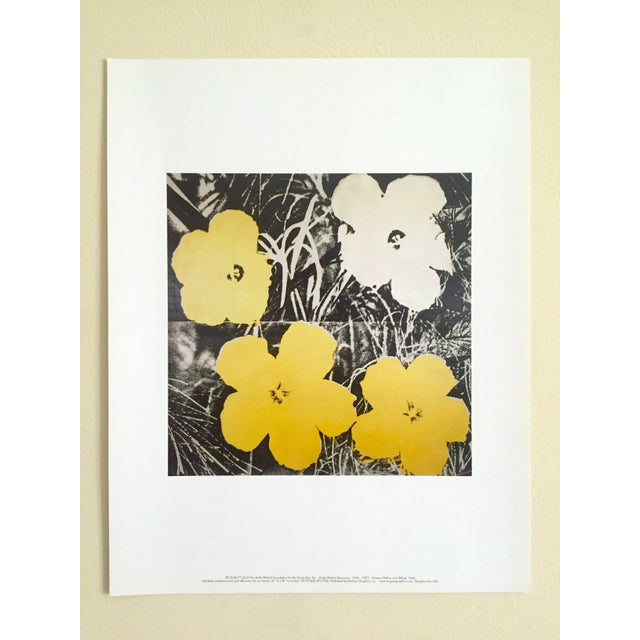 "Andy Warhol Foundation Collector's Pop Art Lithograph Print ""Flowers"" 1966 For Sale - Image 10 of 10"