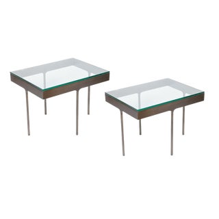 Haworth Rectangular Tables - a Pair For Sale