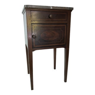 20th Century Traditional Mahogany Commode For Sale