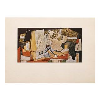 "1947 Georges Braque, Original Period ""The Newspaper"" Parisian Lithograph For Sale"