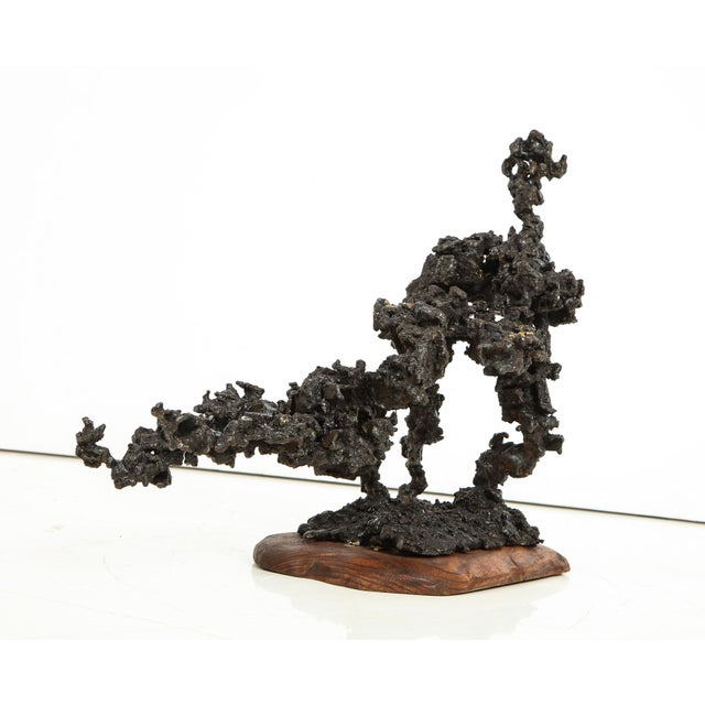 """Abstract James Bearden """"Sprawl #4"""" Brutalist Sculpture For Sale - Image 3 of 11"""