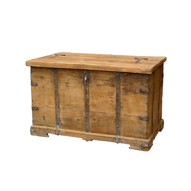 Rustic Stick Box Trunk - Image 2 of 2