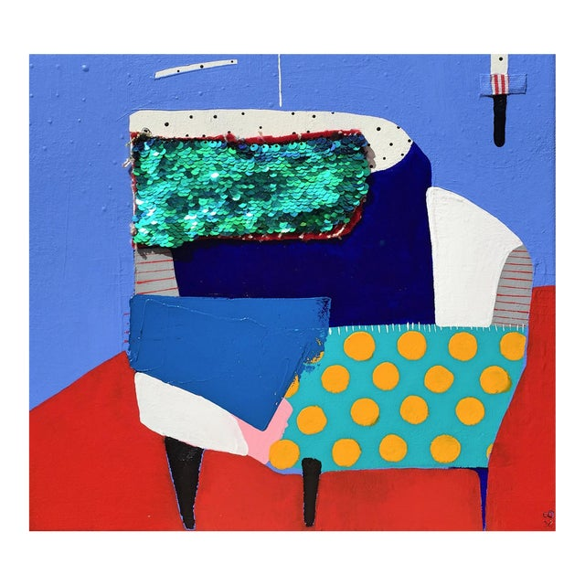 "Kate McCarthy, ""Corner Chair' For Sale"