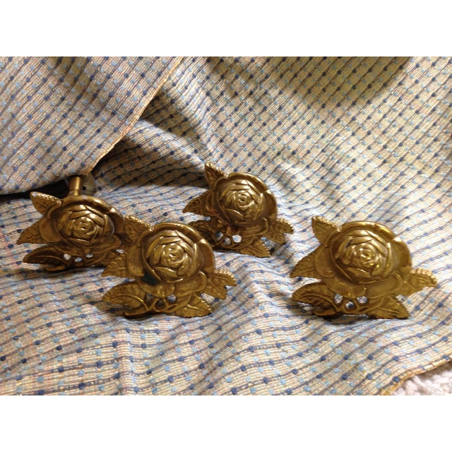 Brass Drapery Tie Backs - Set of 4 - Image 6 of 6