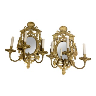 Large Caldwell Neoclassic Sconces - a Pair For Sale